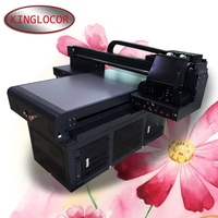 Free shipping 60*90cm flatbed UV printer 3D emboss glass Acrylic digital printing machine UV6090 printer