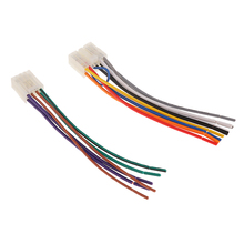 Car Stereo Audio Wiring Harness Adapter Plug Cable 10pin+6pin For Toyota car audio adapter for toyota