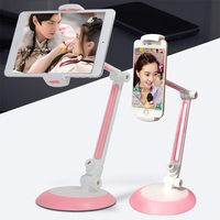 Tablet Stand, Cell Phone Stand,Folding 360 Degree Swivel i Pad i Phone Desk Mount Holder for Tablets Smartphones