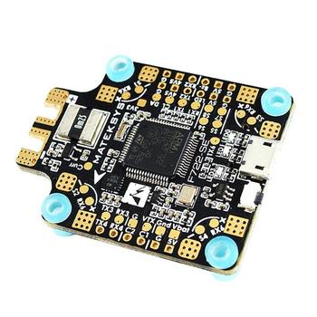 RCtown Matek System F722-SE F7 Dual Gryo Flight Controller w/ OSD BEC Current Sensor Black Box for RC Drone