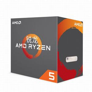 Image 1 - AMD Ryzen R5 1600X CPU Original Processor 6Core 12Threads AM4 3.6GHz TDP 95W 19MB Cache 14nm DDR4 Desktop YD160XBCM6IAE