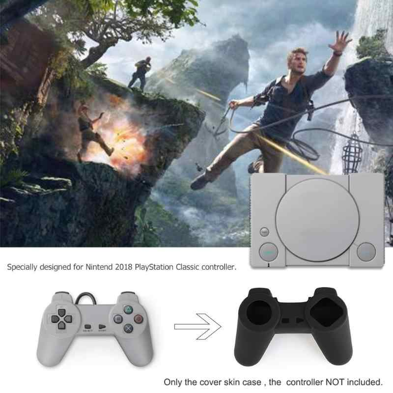 1Pcs Silicone Joystick Thumbstick Grip Caps Protective Skin Cover Case for Nintend 2018 PlayStation Classic Controller Gamepad