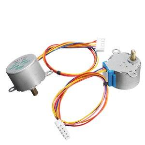 Image 4 - 5Pcs 5V Stappenmotor Met ULN2003 Driver Board Dupont Kabel Voor Arduino Reduction Step Motor Gear Stappenmotor 4 Fase