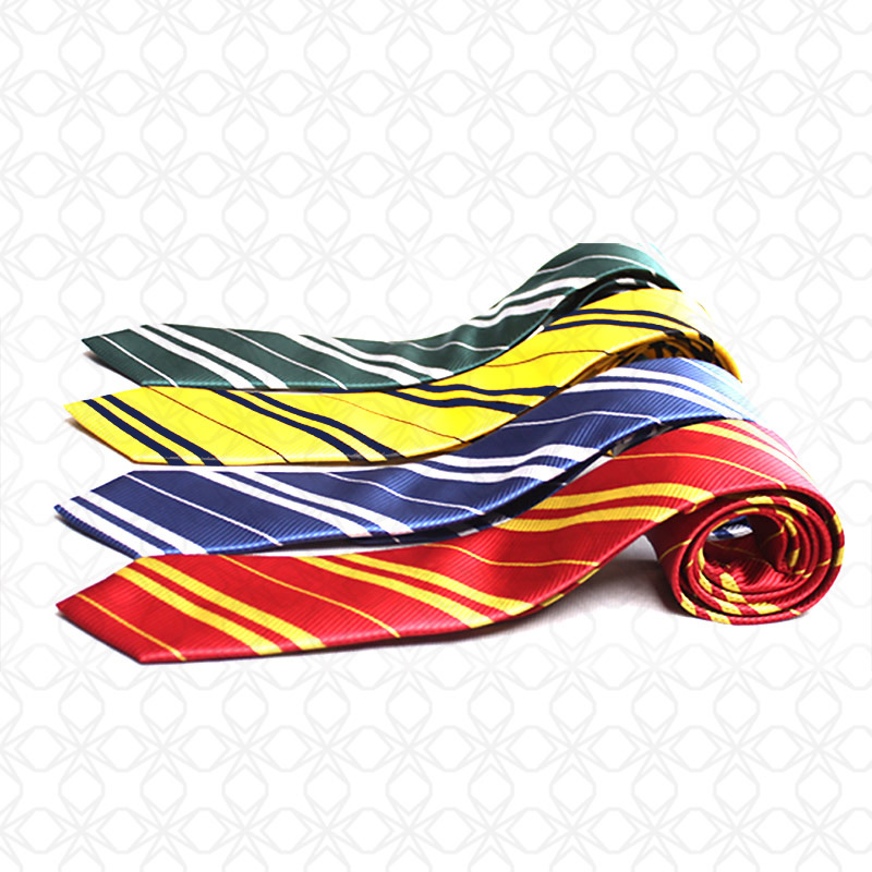 Milky Way College Style Potter Tie Gryffindor Ravenclaw Hufflepuff Slytherin Cloak Costume Accessories Cosplay Tie