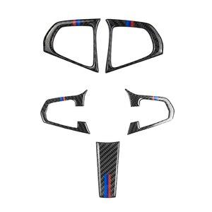 Image 1 - Voor Bmw 5 Serie G30 G38 X3 G01 G08 2 Pcs/3 Pcs Carbon Fiber Stuurwiel Switch Knop cover