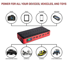 HAMBAR Car Jump Starter 26000mAh High Power Portable Car Charger Multi-function Start Jumper Emergency Car Battery Booster