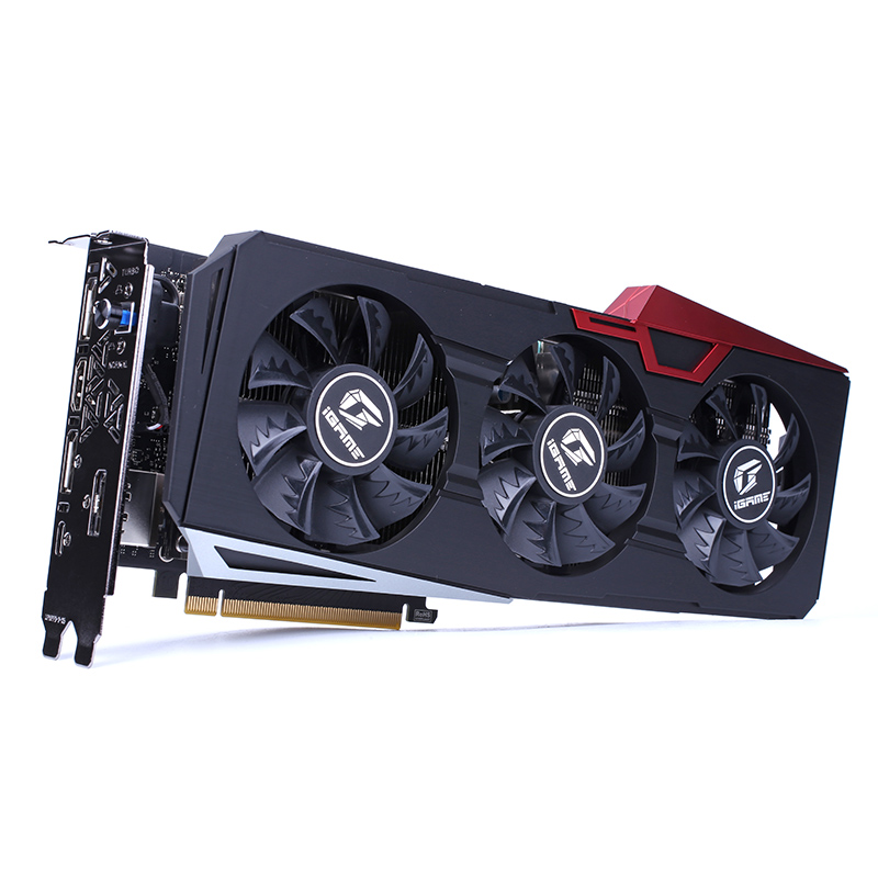 IGame coloré GeForce RTX 2060 Ultra OC 6 GB GDDR6 192Bit 1365-1680 Mhz 14 Gbps Gaming carte graphique