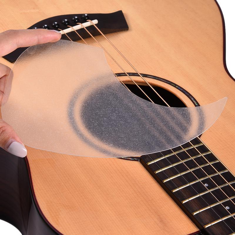 1 PC Professional Folk Acoustic Transparent Guitar Pickguard Self-adhesive Pick Guard Sticker For Acoustic Guitar Accessories