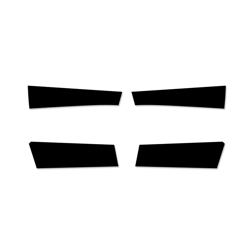 Image 2 - 4PCS Car Styling Interior Microfiber Leather Door Panel Cover Sticker Trim For Mazda 3 2004 2005 2006 2007 2008 2009-in Interior Mouldings from Automobiles & Motorcycles