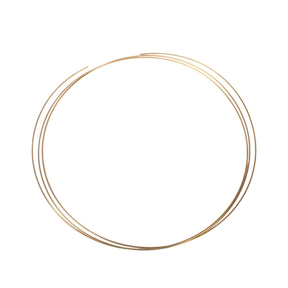 for Ukulele Banjo or Mandolin 1.5mm Crown Fret Wire Brass Fretwire 2 metres