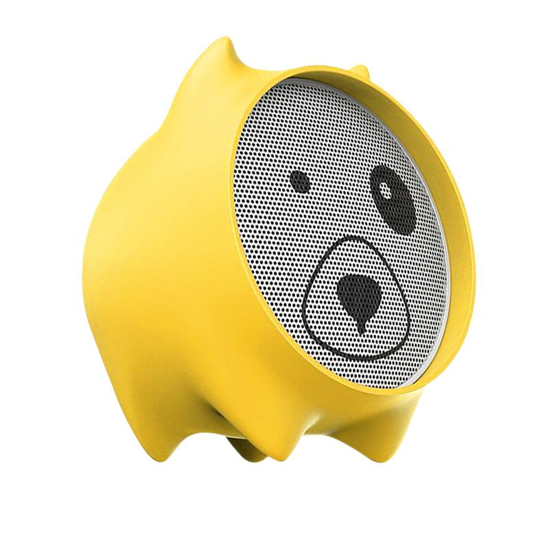 US $14 95 |Wireless Bluetooth Speaker Cartoon Innovative Dog Face Silicone  Portable Mini MP3 Music Player Stereo Sound Speaker-in Portable Speakers