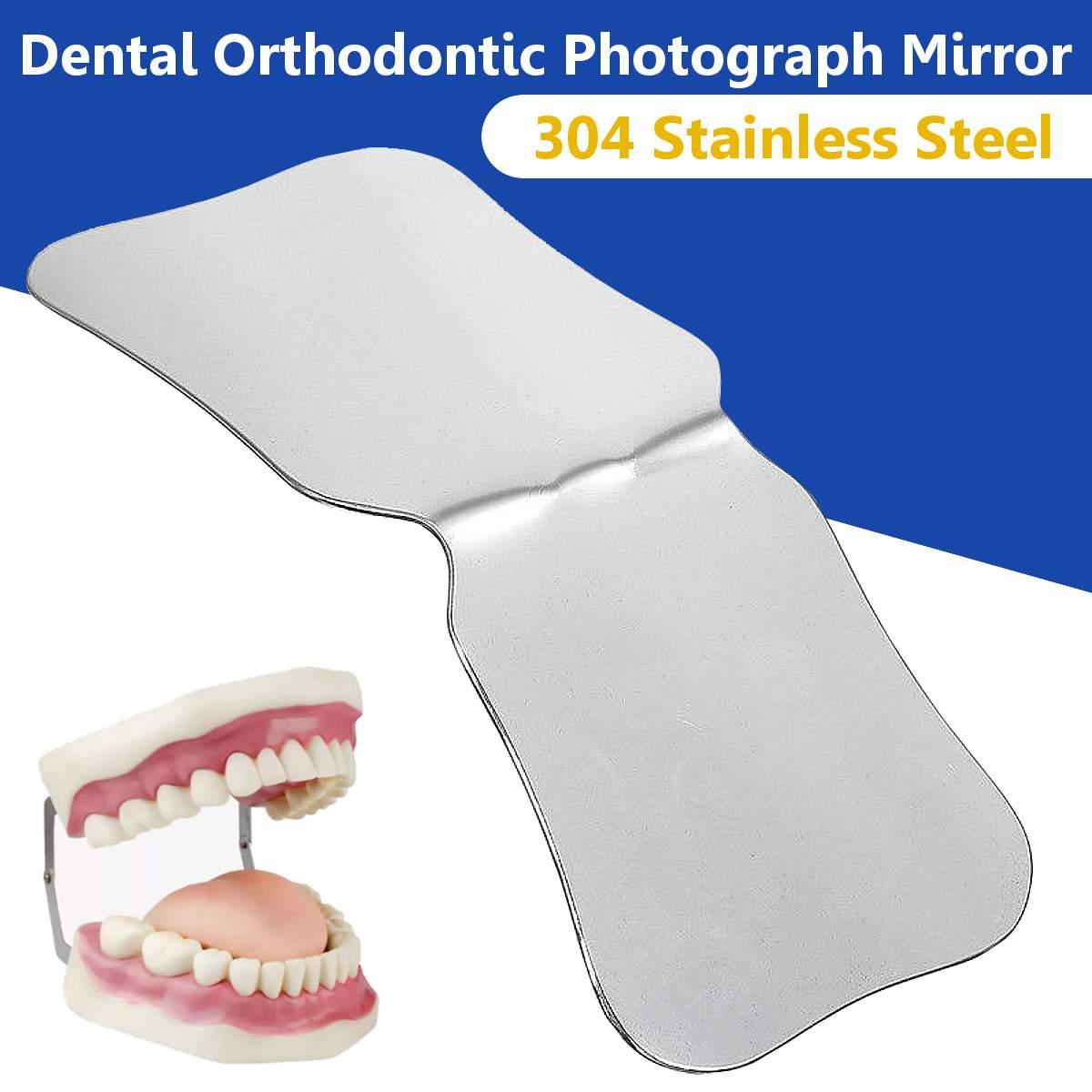 Stainless Steel Dental Photographic Reflector Mirror Oral Teeth Orthodontic Mirror Dental Clinic Dentist Teeth Whitening Tool