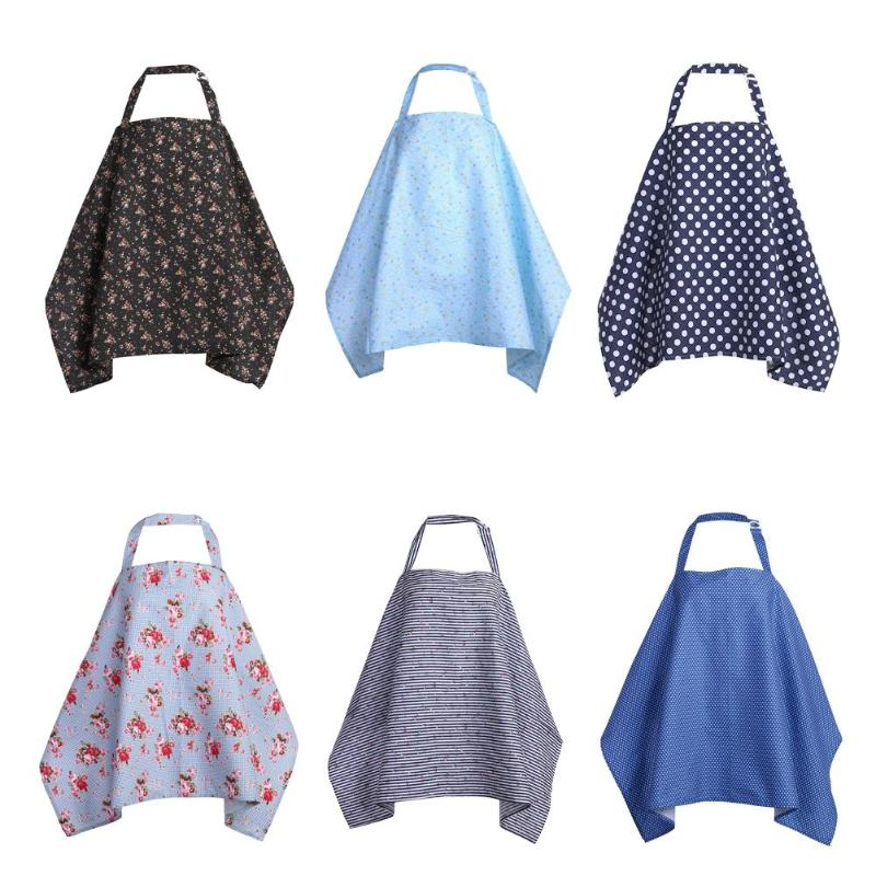 Soft-Cover Scarf Poncho Maternity-Apron Breast-Feeding For Cotton 95--57cm