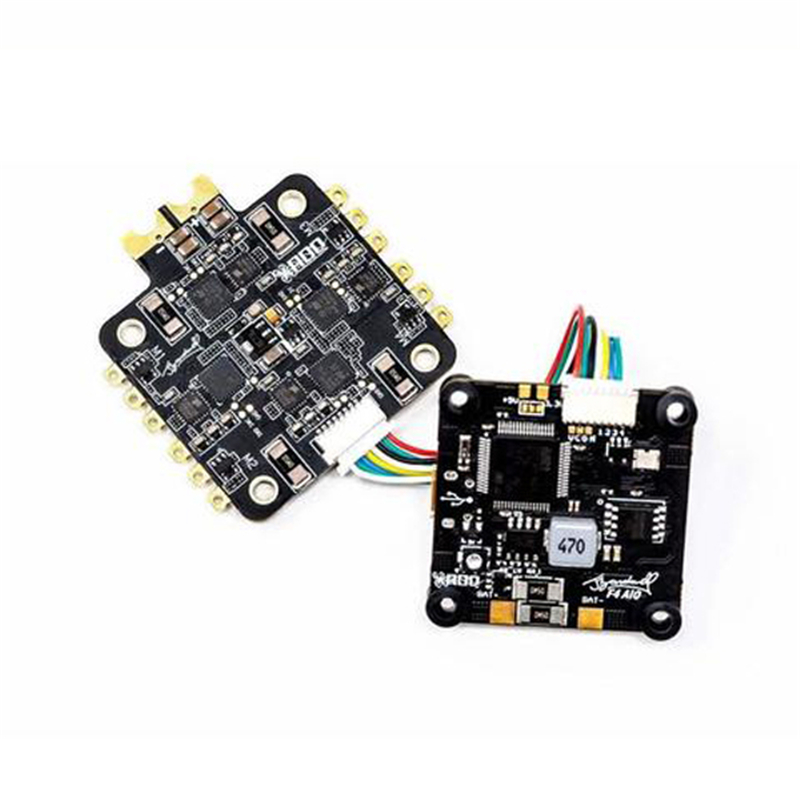 Bardwell F4 AIO Flight Controller V2 W/ JST Port & Onboard Memory OSD 3-6S 30.5x30.5mm For RC FPV Racing Drone Parts DIY Accs