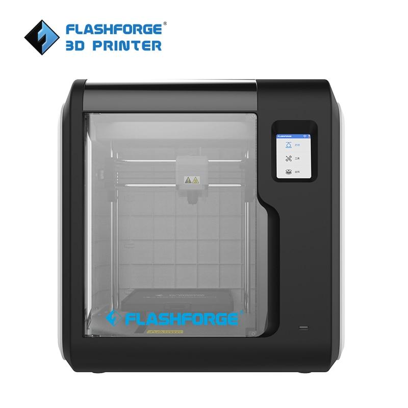 Flashforge 3d impressora 2019 novo aventureiro 3 máquina de nivelamento automático cama removível suporte impressão em nuvem com 1 carretel livre