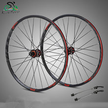 Investment 4 Bearing carbon fiber hub mtb wheelset 29/27.5er Six Holes Disc Brake aluminum rims bike Wheel 28H 8/11 Speed brake wheel wholesale