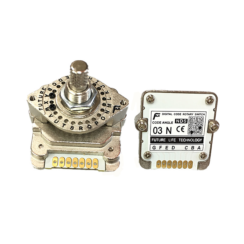 Free Shipping Rotary Switches Band Switch FUTURE Digital Code Switch NDS Series 01H 01J 01N 02H 02J 02N 03H 03J 03N 04N 00N