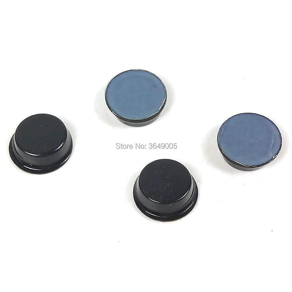 Оригинальный мобильный телефон 3 м SJ5012 защитные резиновые ножки с клеем черный 12,7 мм * 3,6 мм Цилиндрические с плоским верхом
