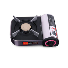 цены Outdoor Mini Cassette Grill Gas Stove Portable Camping Hiking Travel Picnic Barbecue BBQ Gas Stove Furnace Cooking Accessories