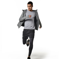 VECTOR Breathable Running Jacket Men Quick drying Running Jersey Windproof Coat Outdoor Sports Hiking Running Top XXF30004