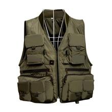 Быстросохнущий жилет для ловли нахлыстом, дышащая рыболовная куртка с сетчатой подкладкой для рыбалки, рыболовная одежда, рыболовные снасти