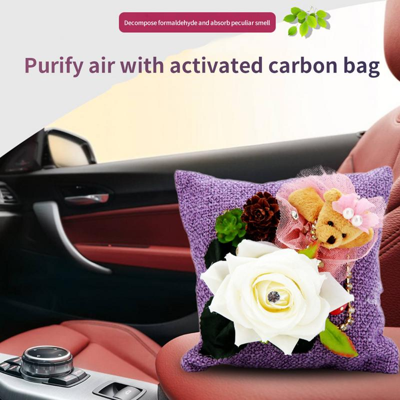Bamboo Charcoal Bag Gift Bag For Car Odor And Formaldehyde Removal Activated Car