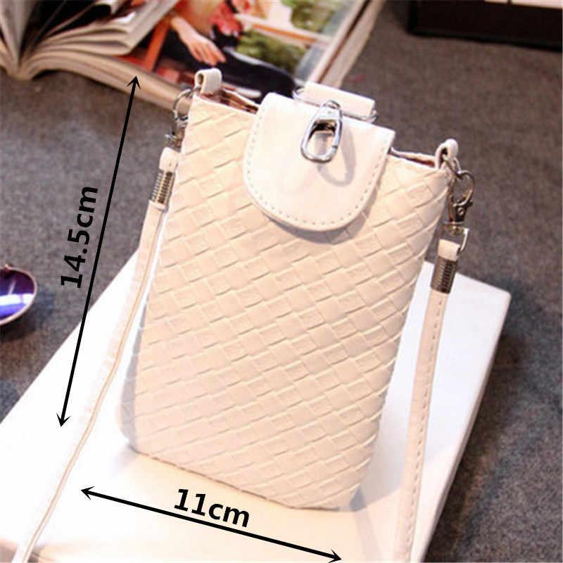 2019 新女性 PU レザークロスボディショルダーシンプルなバッグ素敵なポーチ電話マネーケース女性のためのかわいいミニバッグ