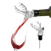 Bottle-Plug Head Stag Wine-Stopper-Bar-Tools Wine-Extractor Funny Deer Stainless-Steel