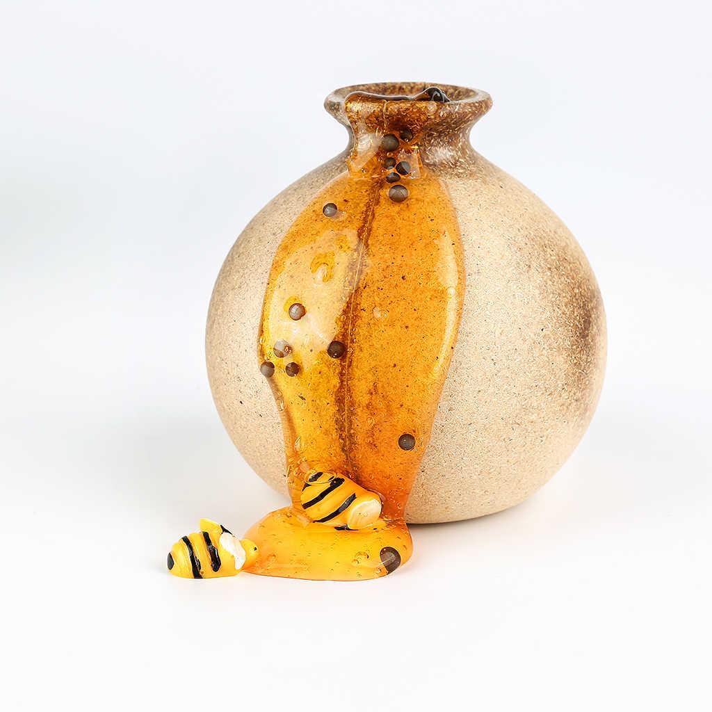 Venda quente de Cristal Brinquedos Slime Claro Lizun Cola lama Honey Bee Modelagem Argila do Polímero Slime slime slime Putty Brinquedo DIY antistress Lama