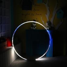 Светодиодный светильник, меняющий свет, перезаряжаемый, свободный вес, игрушка для праздника, сделай сам, украшения, фитнес-круг для девочек, фитнес-упражнения