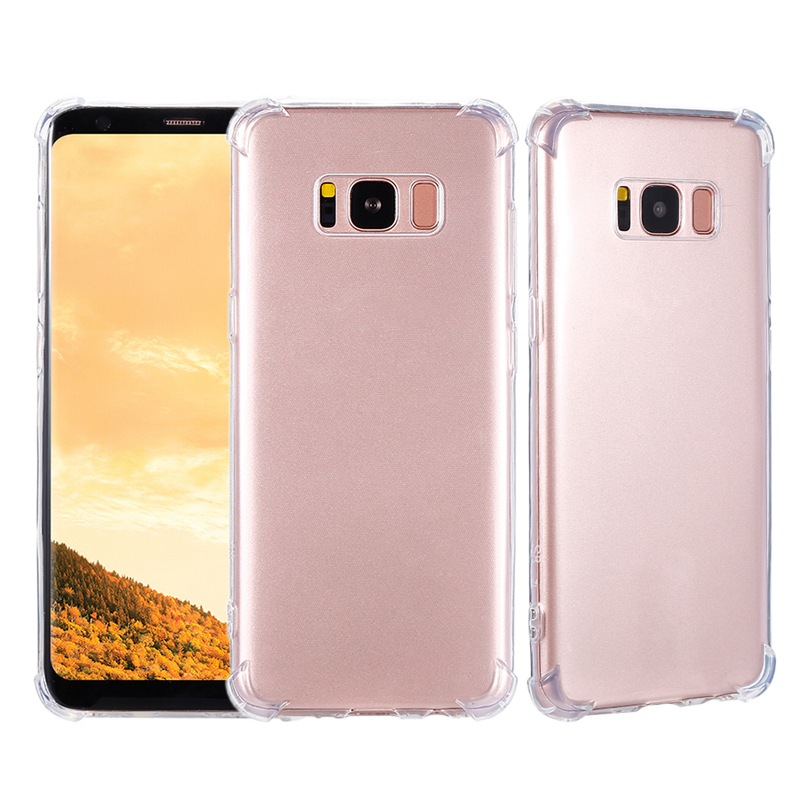 Anti-Knock Clear Silicone Case For Samsung A9S A6S J4 J6 J8 A6 A8 A7 2018 Soft TPU Back Cover For Samsung Galaxy Note9 S9 S10