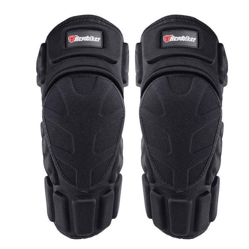 1 Pair Motorcycle Knee Pads Motorcycle Protective Knee Guards Safety Gears Road Motorbike Knee Pads Equipment|Motorcycle Protective Kneepad| |  - title=