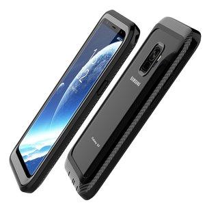Image 5 - 삼성 갤럭시 S9 케이스 360 보호 전신 견고한 클리어 범퍼 케이스 내장