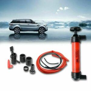 Image 3 - Nowa ręczna syfon pompa oleju paliwa benzyna Diesel woda syfon transferu powietrza zestaw