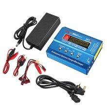 LEORY iMAX B6 Mini 80W 5A DC Batterie Balance Ladegerät XT60 Stecker mit Netzteil Balance Ladegerät Entlader für RC Hubschrauber