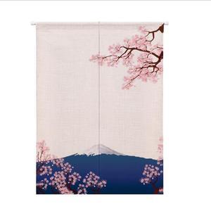 Image 3 - XIAOKENAI Vải Lanh Cotton Màn Nửa Màn Nhà Bếp Nhật Bản Phòng Ngủ Trang Trí Nhà Phân Vùng Màn Rèm Nhà Tắm