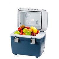 20L переносной мини холодильник 12 В/220 В 36 Вт автомобиль кемпинг домашний холодильник кулер и теплее одноядерный хорошее рассеивание тепла ни
