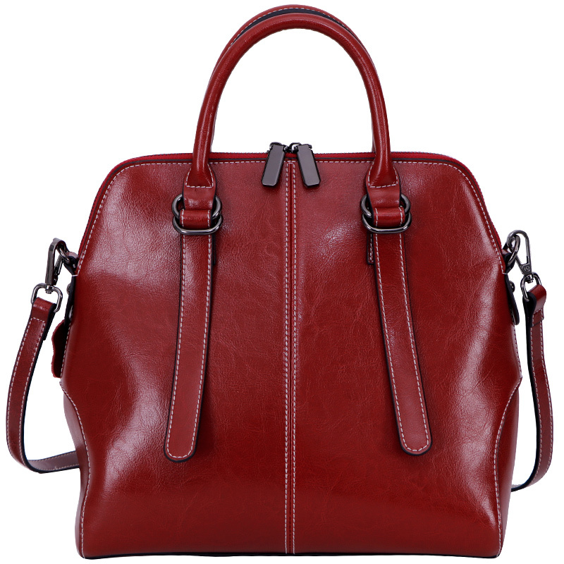 Fashion Women Tote Bags Genuine Leather Shoulder Messenger Bags Crossbody Purse High Quality Lady Handbags women bags high grade genuine leather handbags vintage women messenger bag with tassel lady shoulder crossbody tote bags louis