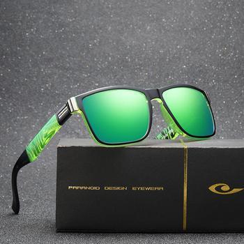 MISSKY Summer Sunglasses Men Polarized Sun Glass For Men 2019 Women Polarized Square Black Sunglasses Male Glasses Oculos
