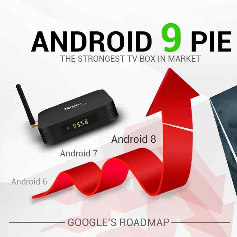 TX6 Android 9.0 Thông Minh TV Box Allwinner H6 Quad Core 4G + 32 GB 2.4G + 5G dual Band WIFI BT 4.1 Set Top Box Phương Tiện Truyền Thông Máy Nghe Nhạc