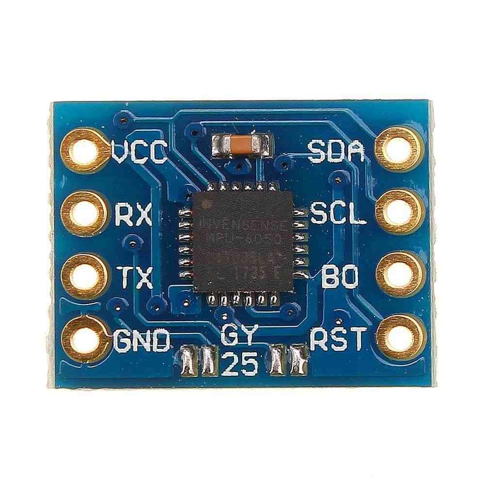 LEROY 1 pc 15mA 3-5 V MPU6050 ports série Gyroscope Circuits d'accélération