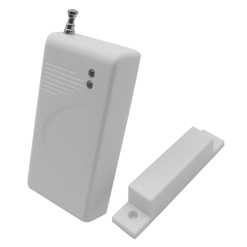 Universal 433Mhz Gsm Wireless Magnetic Contact Sensor Window Door Entry Detector For Home Office Security Alarm System, Access