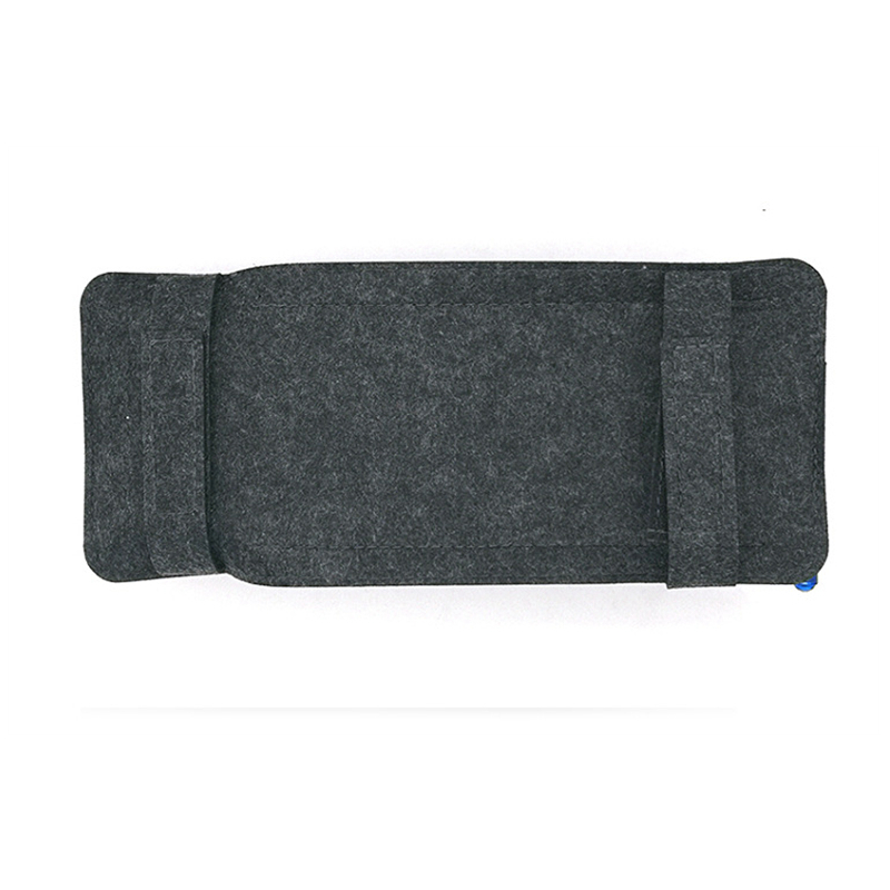 Car Styling Case Sun Visor Type Wool Felt Hanging Tissue Box Car Napkin Holder Pocket Organizer Pouch Card Storage in Stowing Tidying from Automobiles Motorcycles