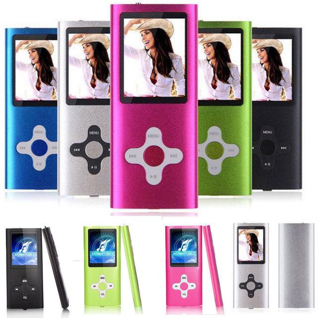 Slim 1.8 ″ LCD 16 GB MP4 MP3 מוסיקה מדיה וידאו נגן FM-רדיו מקליט משחקים
