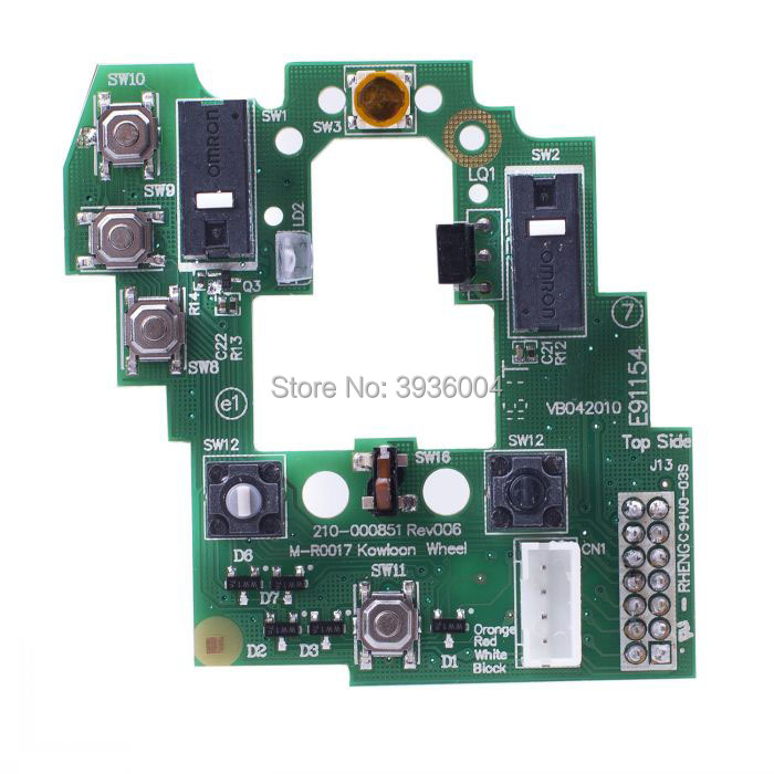 Mouse Motherboard Upper Motherboard Key Board for Logitech G700 G700S Mouse