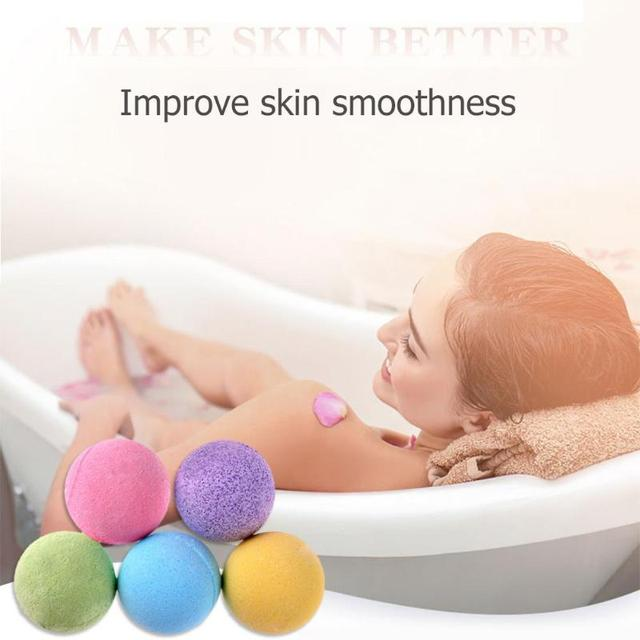 20g Plants Bath Salt Ball Bubble Shower Bomb Body Skin Whitening Ease Relax Bubble Shower Bomb Skin Care Relax Metabolism Spa 4