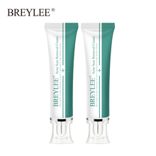Breylee 2pcs Acne Scar Removal Cream Face Cream Skin Repair Skin Care Scar Acne Treatment Remove Stretch Marks Whitening Cream