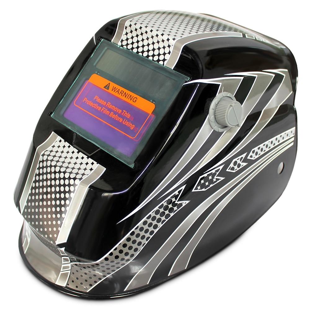 Reboot Welder Helmet Mask Solar Energy Automatic Changeable Light Electric Welding Protective Helmet With Hero Character Pattern