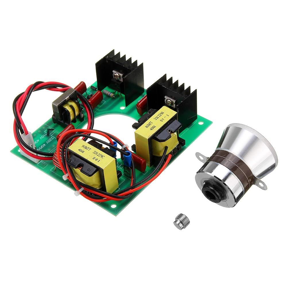 110V 50W Ultrasonic Generator Power Supply Module + 1pc 40K Ultrasonic Transducers Vibrator110V 50W Ultrasonic Generator Power Supply Module + 1pc 40K Ultrasonic Transducers Vibrator