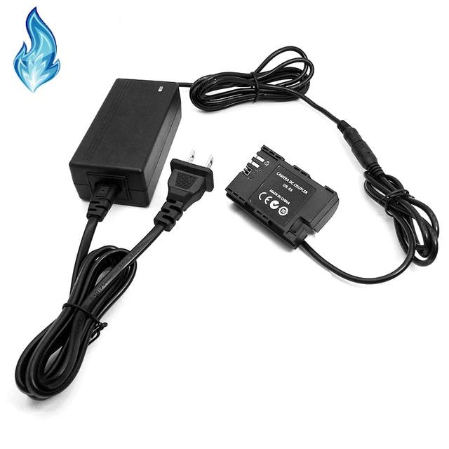 طقم محوّل الطاقة ACK E6 LP E6 مقرنة بالكامل فك تشفير كاميرا كانون